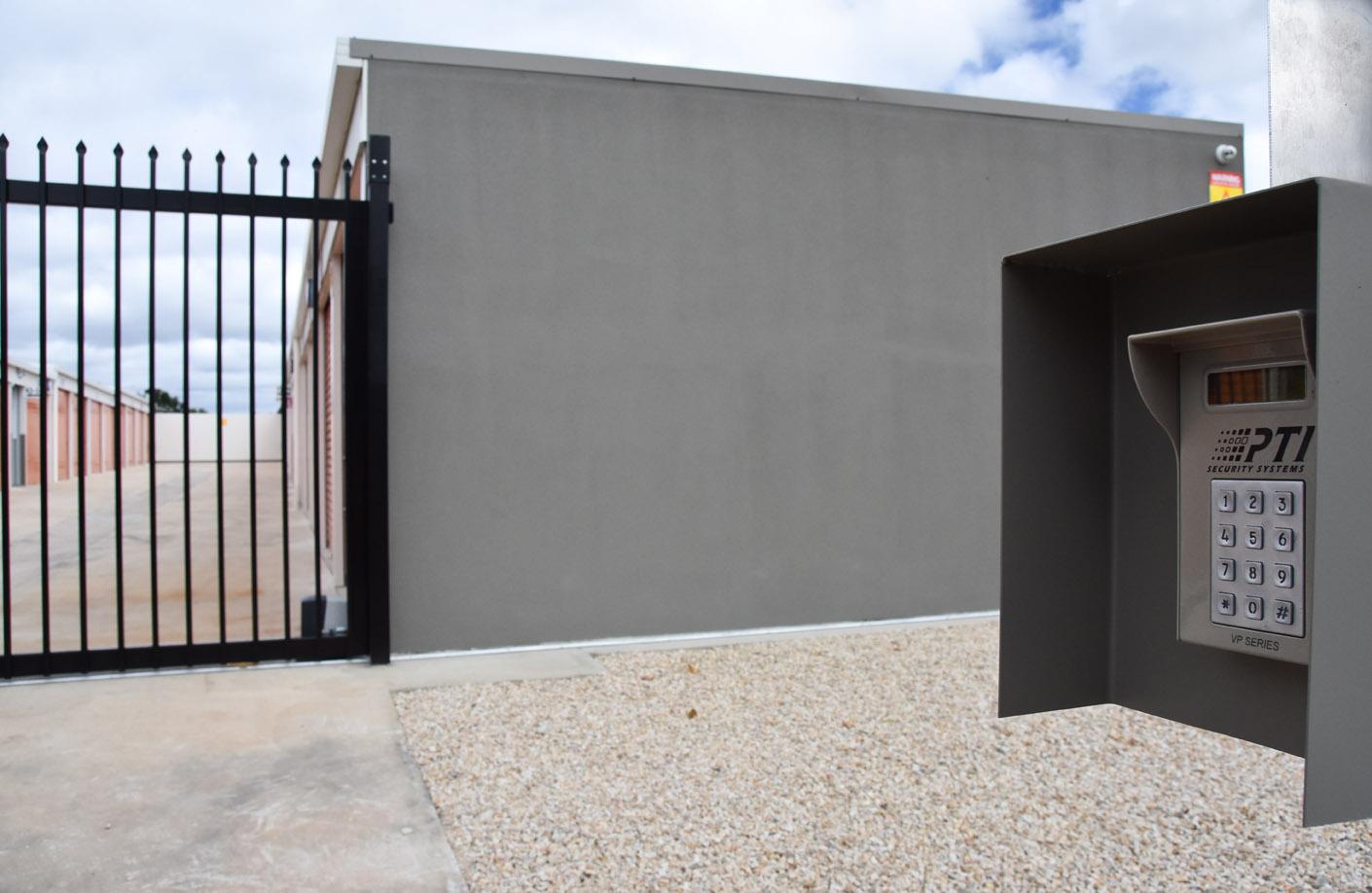 self storage unit security